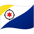 Flag: Caribbean Netherlands on Google Android 12.0