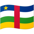 Flag: Central African Republic on Google Android 12.0
