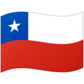 Flag: Chile on Google Android 12.0