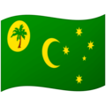 Flag: Cocos (Keeling) Islands on Google Android 12.0