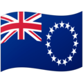 Flag: Cook Islands on Google Android 12.0