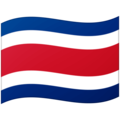 Flag: Costa Rica on Google Android 12.0