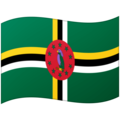 Flag: Dominica on Google Android 12.0