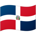Flag: Dominican Republic on Google Android 12.0