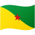 Flag: French Guiana on Google Android 12.0