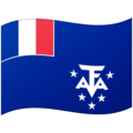 Flag: French Southern Territories on Google Android 12.0