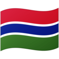 Flag: Gambia on Google Android 12.0
