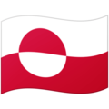 Flag: Greenland on Google Android 12.0