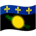 Flag: Guadeloupe on Google Android 12.0