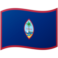 Flag: Guam on Google Android 12.0