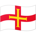 Flag: Guernsey on Google Android 12.0