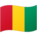 Flag: Guinea on Google Android 12.0