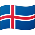 Flag: Iceland on Google Android 12.0