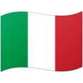 Flag: Italy on Google Android 12.0