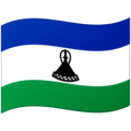 Flag: Lesotho on Google Android 12.0