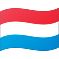 Flag: Luxembourg on Google Android 12.0