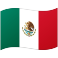 Flag: Mexico on Google Android 12.0