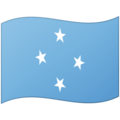 Flag: Micronesia on Google Android 12.0