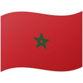 Flag: Morocco on Google Android 12.0