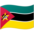 Flag: Mozambique on Google Android 12.0