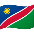 Flag: Namibia on Google Android 12.0