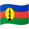 Flag: New Caledonia on Google Android 12.0
