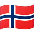 Flag: Norway on Google Android 12.0