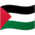 Flag: Palestinian Territories on Google Android 12.0