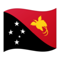Flag: Papua New Guinea on Google Android 12.0