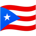 Flag: Puerto Rico on Google Android 12.0