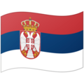 Flag: Serbia on Google Android 12.0