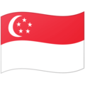 Flag: Singapore on Google Android 12.0
