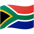 Flag: South Africa on Google Android 12.0