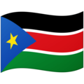 Flag: South Sudan on Google Android 12.0