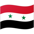 Flag: Syria on Google Android 12.0