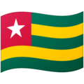 Flag: Togo on Google Android 12.0