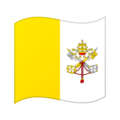 Flag: Vatican City on Google Android 12.0