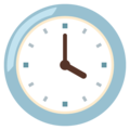 Four O'Clock on Google Android 12.0
