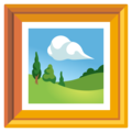 Framed Picture on Google Android 12.0