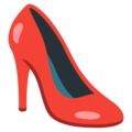 High-Heeled Shoe on Google Android 12.0