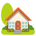 House with Garden on Google Android 12.0