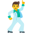 Man Dancing on Google Android 12.0
