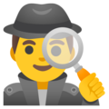 Man Detective on Google Android 12.0