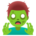 Man Zombie on Google Android 12.0