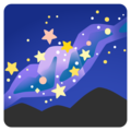 Milky Way on Google Android 12.0