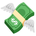 Money with Wings on Google Android 12.0