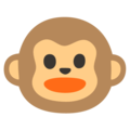 Monkey Face on Google Android 12.0