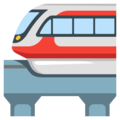 Monorail on Google Android 12.0