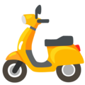Motor Scooter on Google Android 12.0