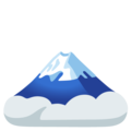 Mount Fuji on Google Android 12.0